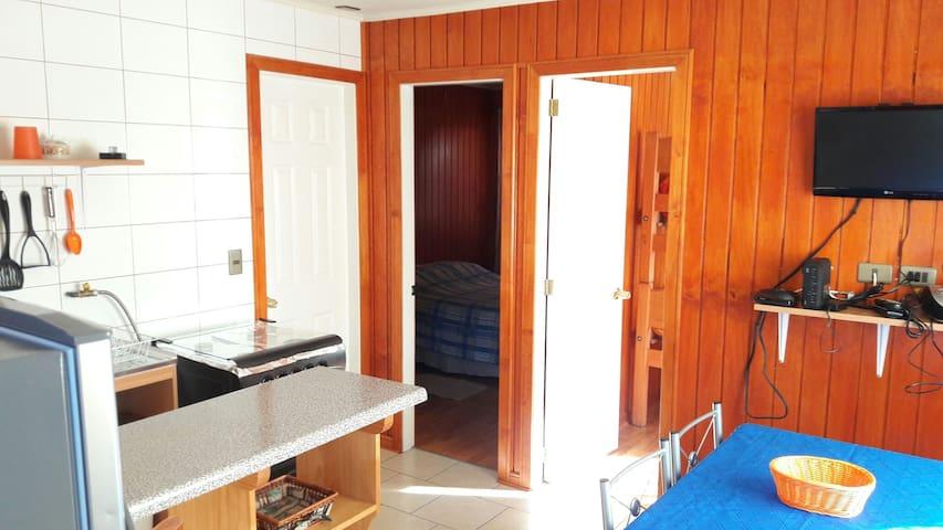 Apartamento en Valdivia,sector de Isla Teja. - Valdivia - Leilighet