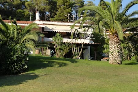 Beachfront Villa at Elani Halkidiki 100m from sea - Elani