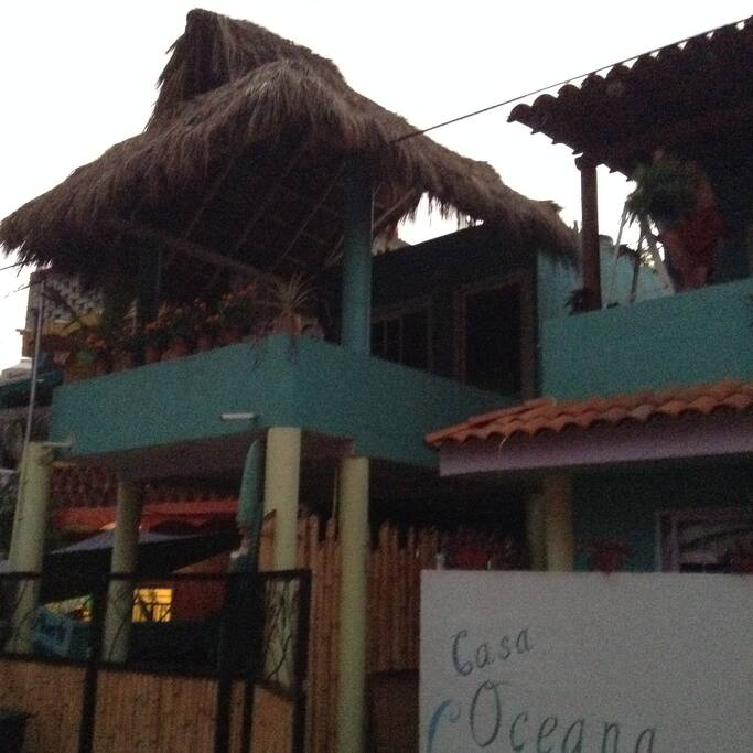 Tiburon is the casita with the palapa top!