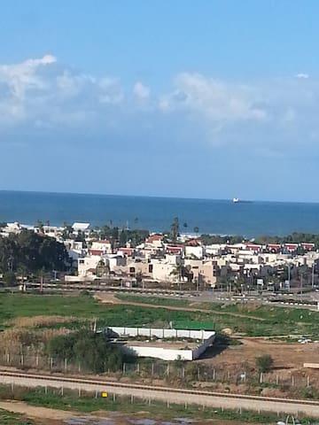 point de vue sur la Méditerranée