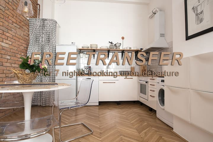 "NICE ""TRABI"" APARTMENT IN THE CITY"