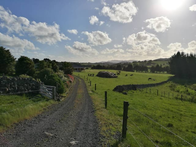 Self Contained Kiwi Farm Stay