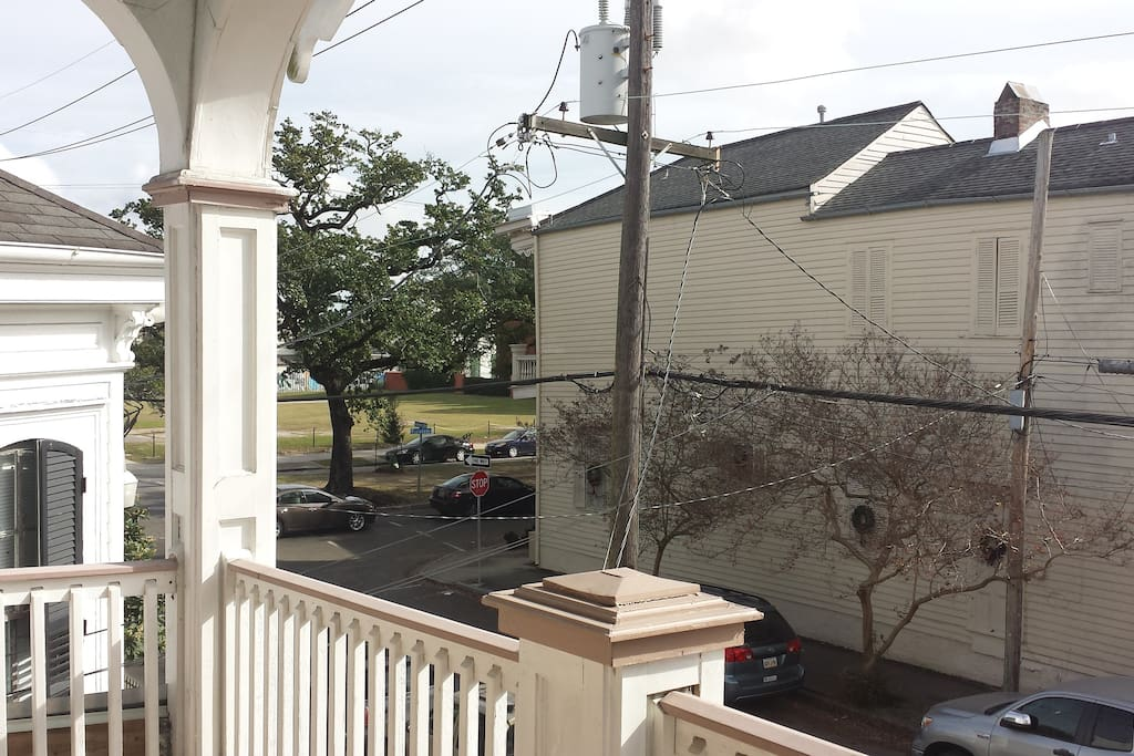 Neighborhood View from porch