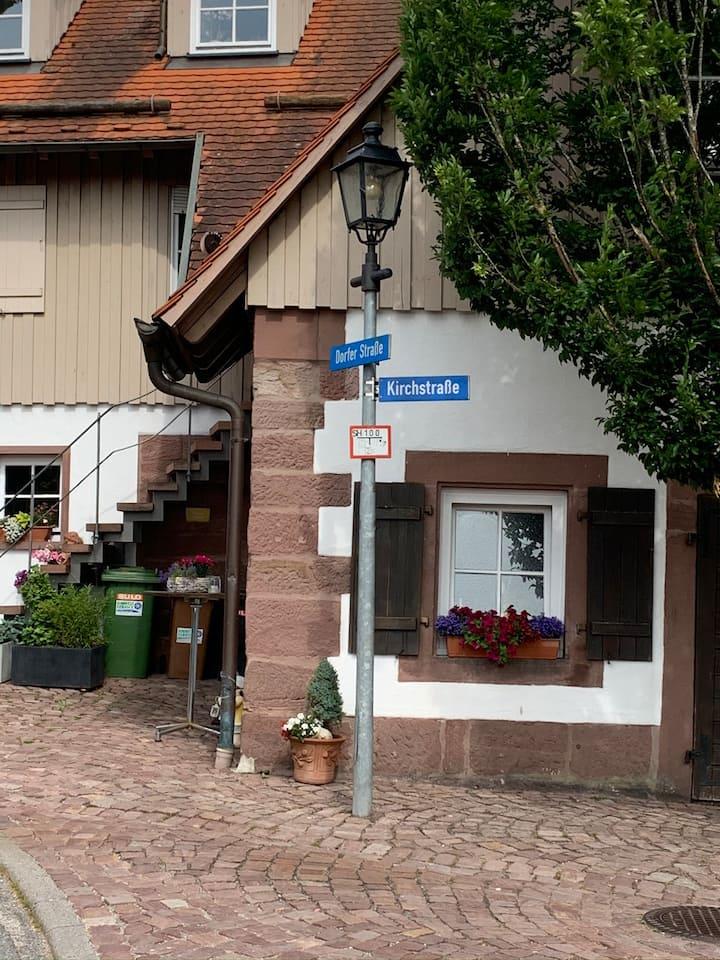 Altstadt Schloß ca.35m2 Nichtraucher-Sep.Eingang