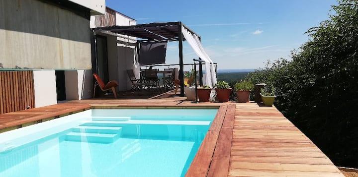 Villa au calme, idéale télétravail ou vacances