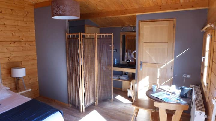 Chalet chambre Insolite