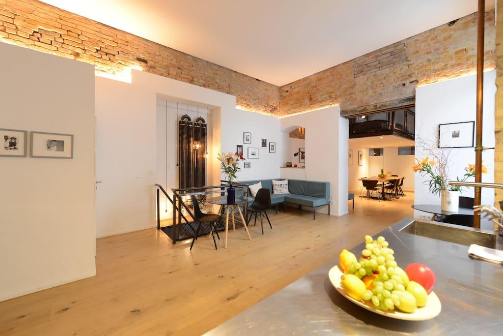 Industrial Design Apartment 130m2 Lofts Zur Miete In