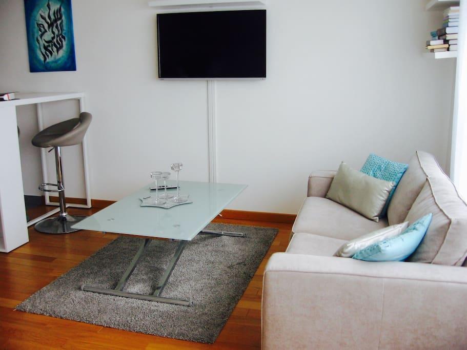 Studio design proche paris appartements louer vanves - Salon grand voyageur gare montparnasse ...