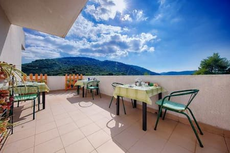 Apartments Bruna Lastovo-Superior One Bedroom Apartment with Balcony and Sea View