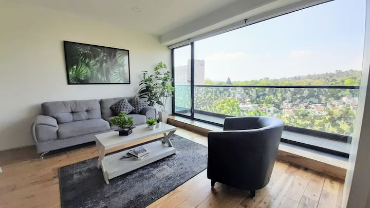 Amazing view  Great location@ Condesa. 5 ⭐ place.
