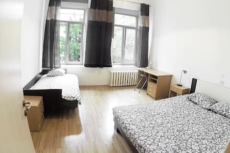 LARGE  TWIN ROOM (2 separated beds) in OldTown - Vilnius
