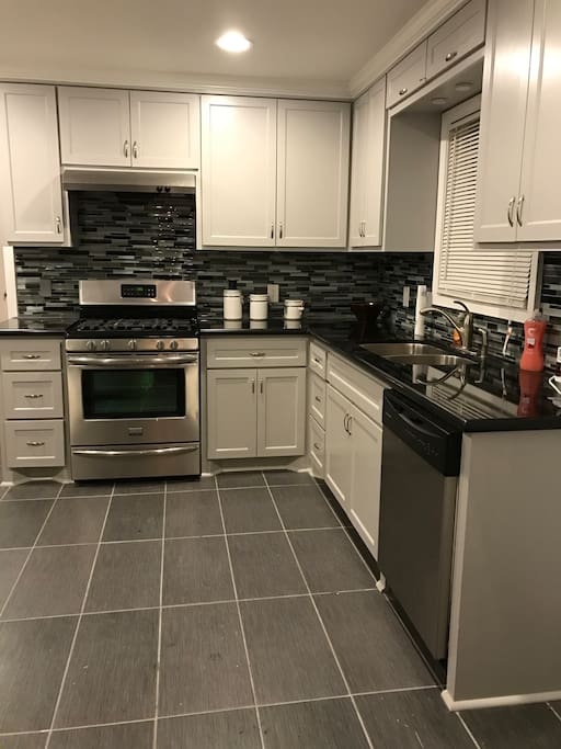 Enjoy a home cooked meal in this spacious remodeled kitchen.