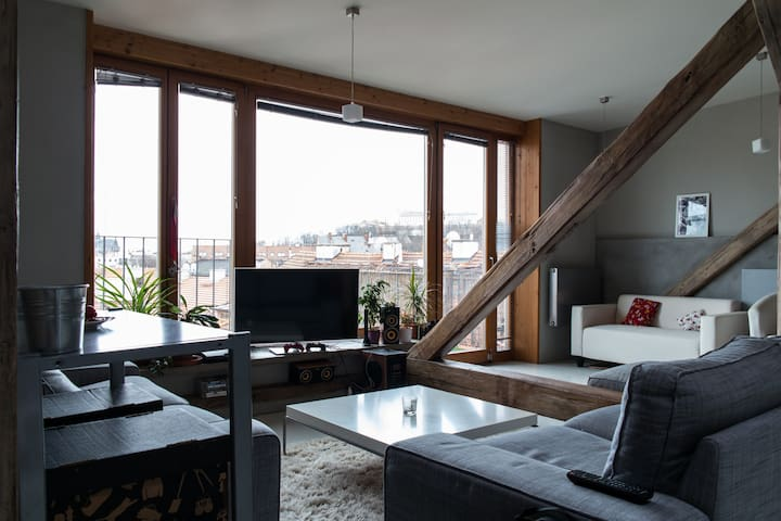 Luxury apartment in the city center - Brno - Loft