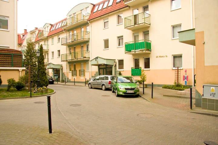 Miejsca parkingowe włącznie dla mieszkańców osiedla