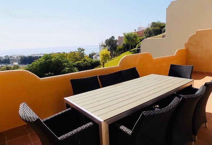 Sea Views Stunning Duplex Casares Costa