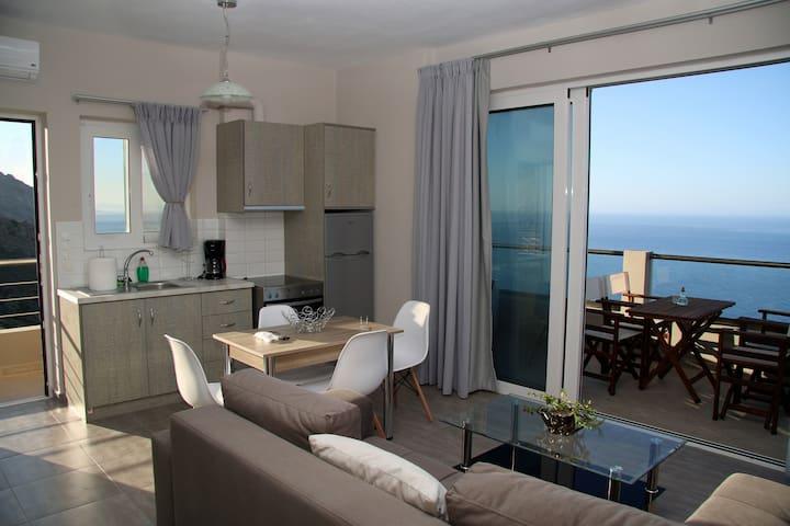 Akrotiri Panorama Apartment 2 - Kato Rodakino - Apartamento
