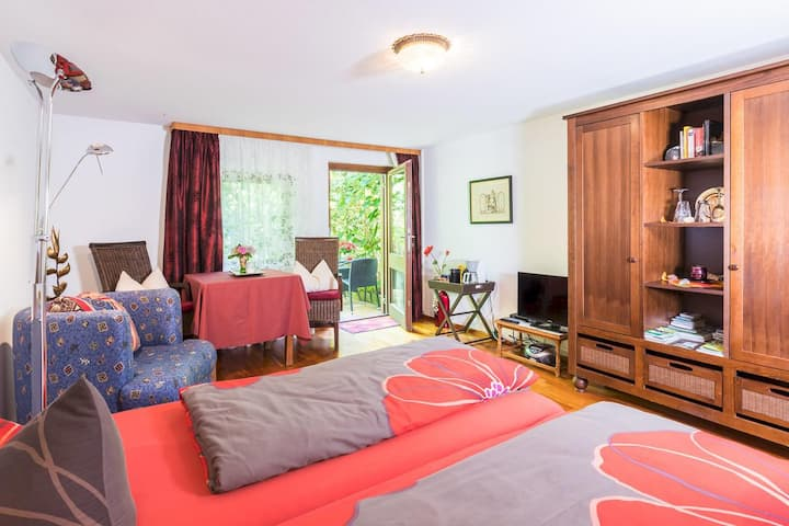 Guest Room at Unger-Taube House with Mountain View, Terrace & Shared Garden; Parking Available