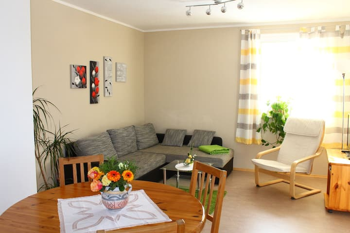 Spacious Apartment in Weißig with Garden
