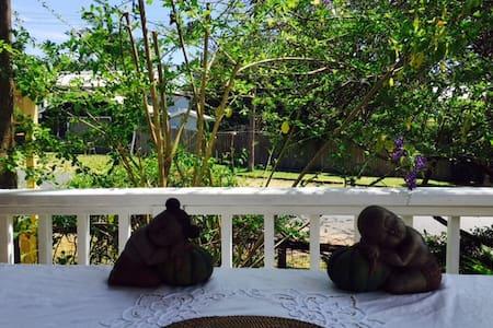 Room with verandah - morning light - Bellingen