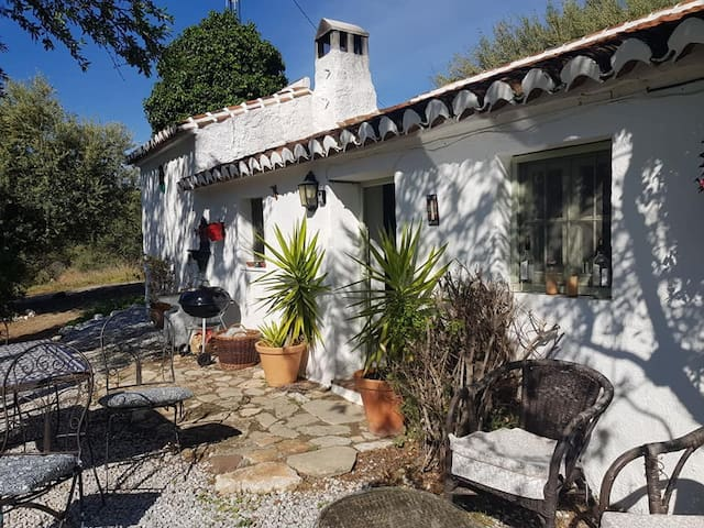 Relax outside the Casita