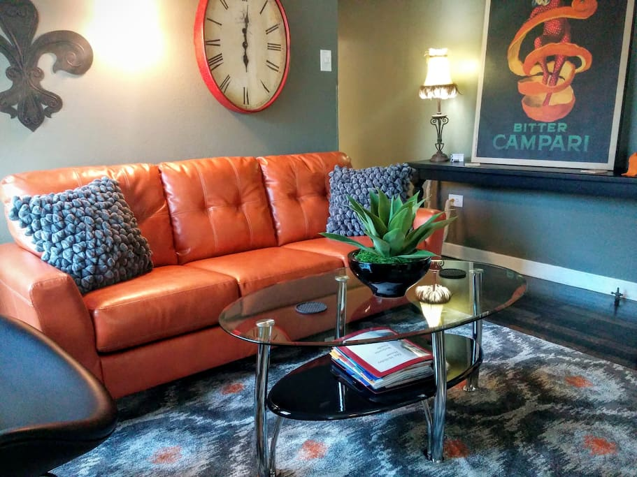 Leather Furniture and other fine quality furnishings.