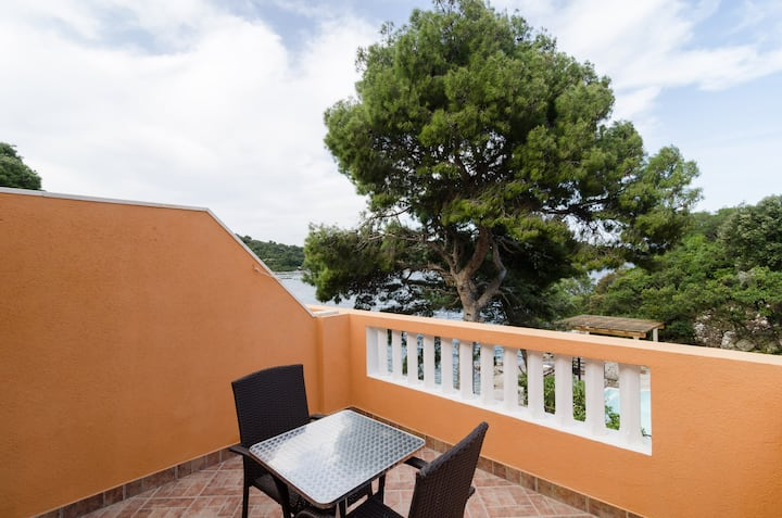 Apartments Vinko Mljet- One-Bedroom Apartment with Terrace (A3)