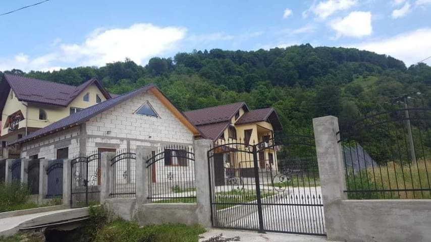 Casa este situata la 500 metri de padure.