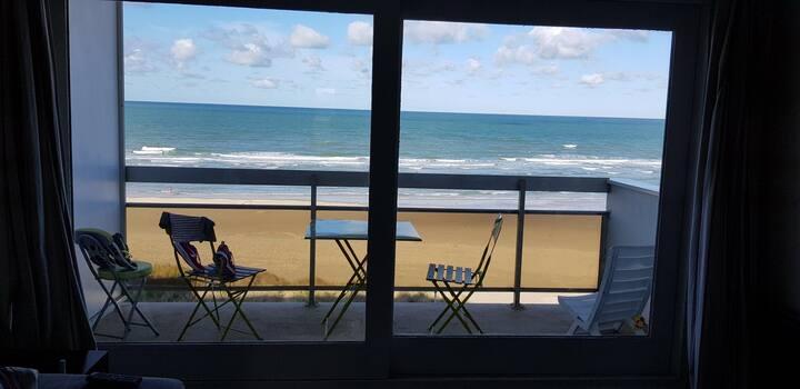 Appartement Hardelot front de mer