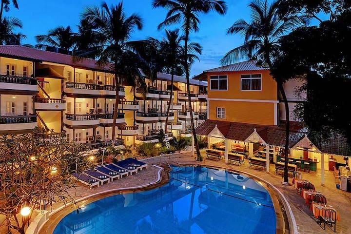 1 Bedroom Baga Beach Resort near Tito's - Baga - Wohnung