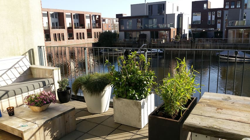 Waterland family apartment (2 adults, WATERVIEW!) - Amsterdam - Wohnung