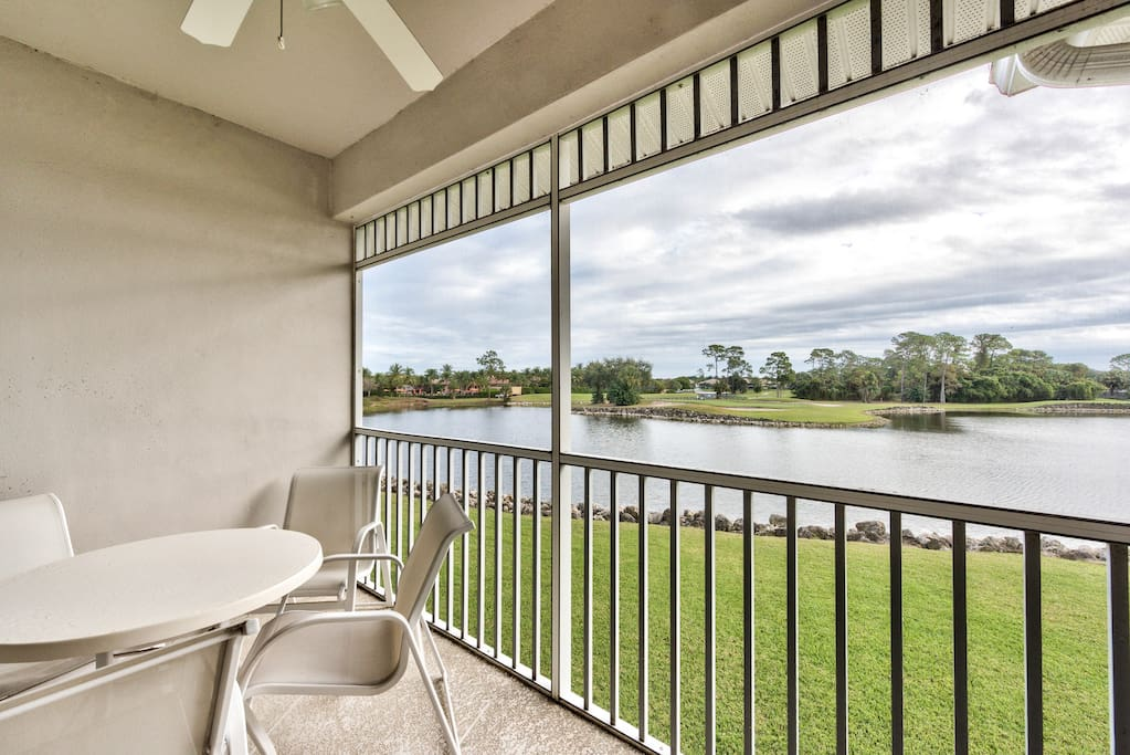 Resort Style Pool, 3 Bedrooms, Great Golf Views - Florencia Golf Condo in the Lely Resort - Naples Florida Vacation Homes
