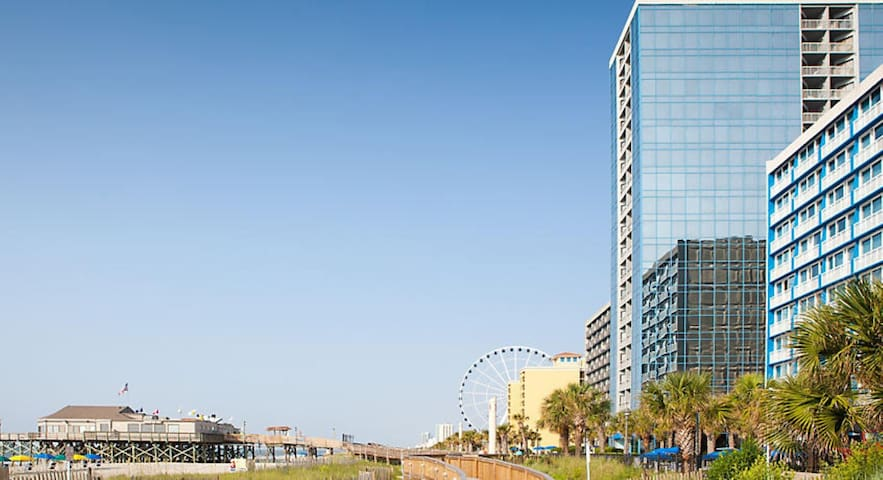 SeaGlass Tower - 1 Bedroom Condo