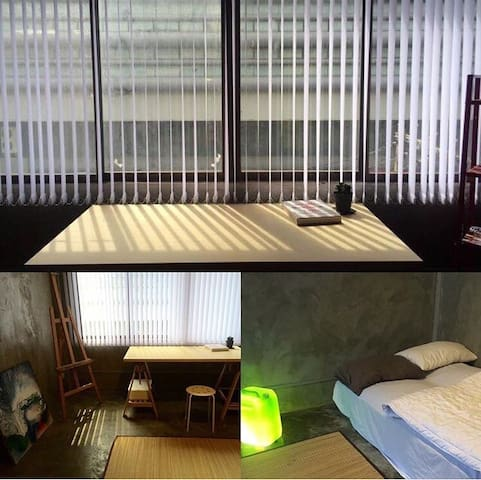 3Private rooms with ROOFTOP&Loft spaceCentral BKK