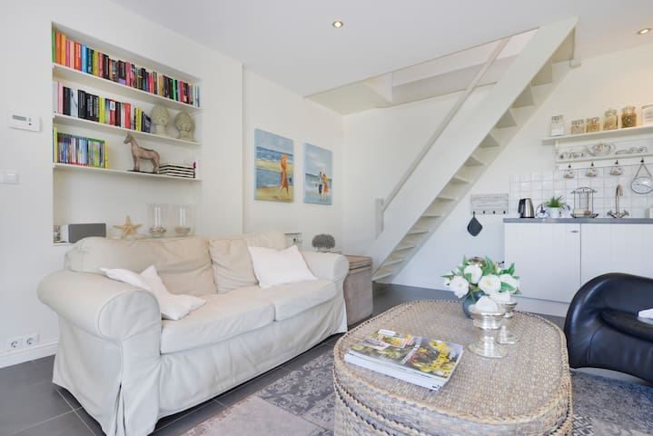 Appartement, woonkamer, keuken, 2 slaapkamers