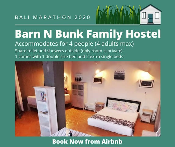 Bali Marathon 2020 Barn N Bunk Family Hostel