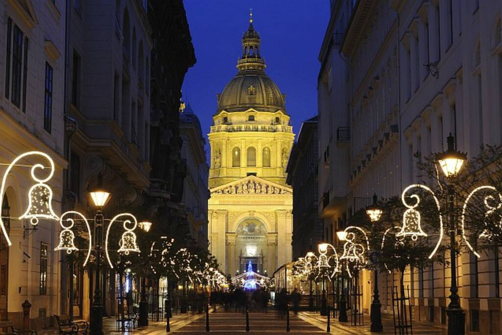 Location St.Stephen Basilica, Zrínyi u