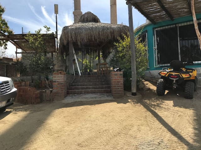 House on Hill, FREE ATV, WiFi, A/C, near to beach - Los Barriles - Hus