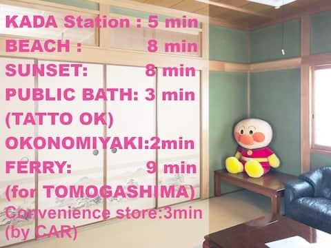 WAKAYAMA HOUSE No.10 / Nearby BEACH, Station.