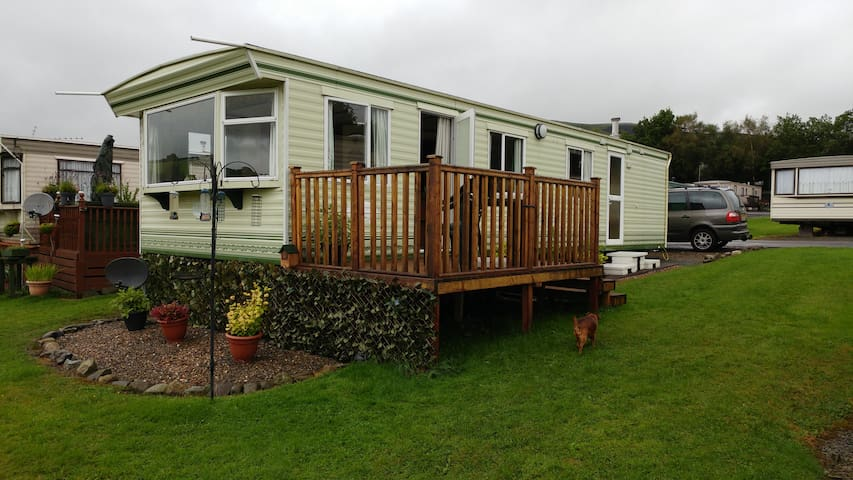 Quiet, comfortable caravan with gorgeous views - Powys - Andere