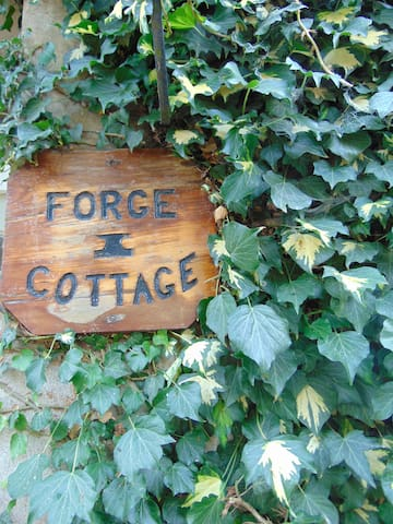 Cottage was originally an old Forge