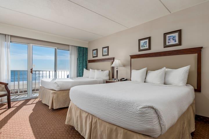 Oceanfront 1 Bedroom 1 Bath Suite-Princess Royale