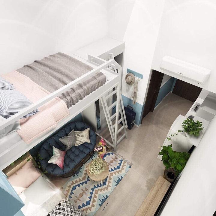 Ben Thanh studio ❤ Scandinavian design ❤ free pool