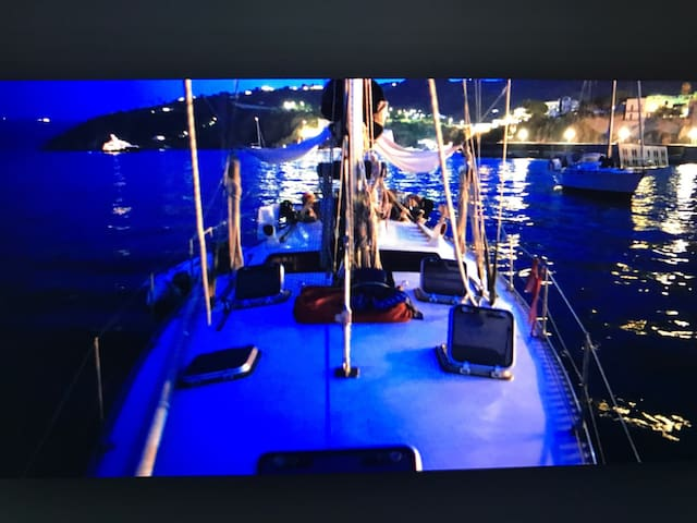 Boat&Breackfast nel porto Aregai - Santo Stefano al mare - Kapal