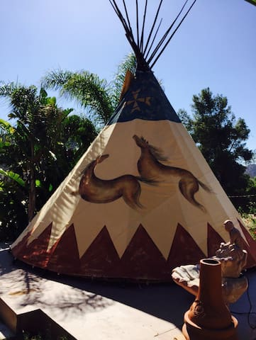 Mystic Canyon Tipi Glamping Adventure for 2!