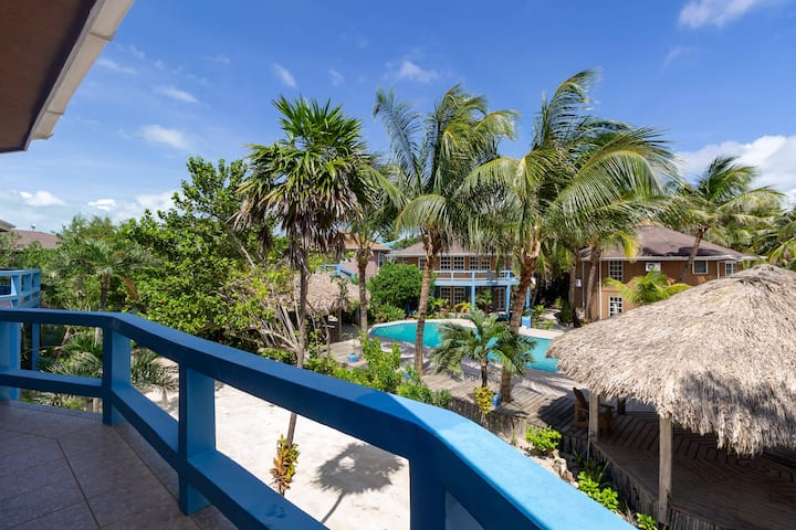 Gold Standard Poolside Suite in Oceanfront Resort Belize