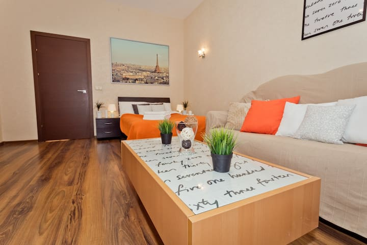 Apartment/Center/60m2/Balcony/WiFi - Nizhny Novgorod