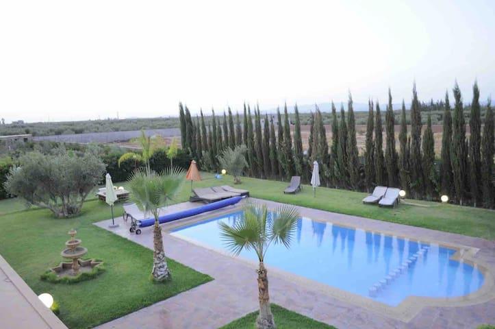 Villa du luxe à marrakech