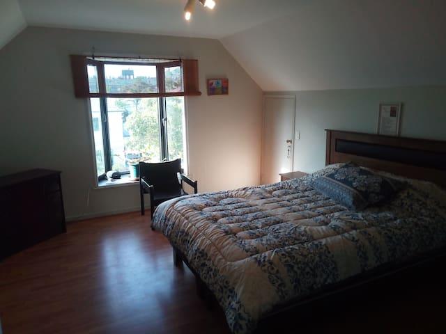Habitación individual, cama 2 plazas/ baño privado