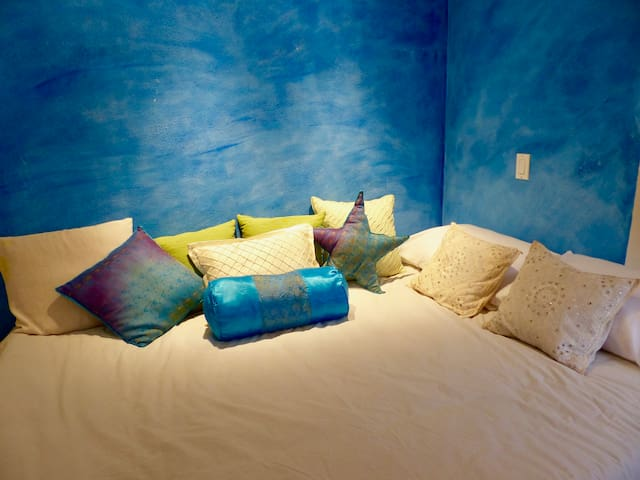 private bedroom downstairs