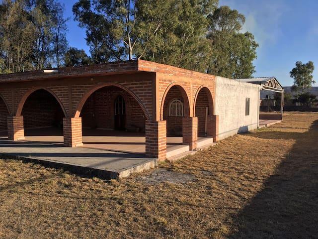 Casa de campo en San Miguel el Alto - San Miguel el Alto - Lodge immerso nella natura